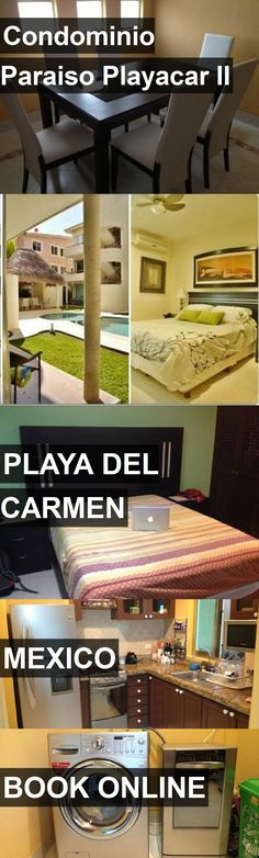 Hotel Condominio Paraiso Playacar II in Playa Del Carmen, Mexico. For more information, photos, reviews and best prices please follow the link. #Mexico #PlayaDelCarmen #travel #vacation #hotel