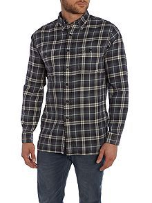 Custom Fit Twill Check Shirt