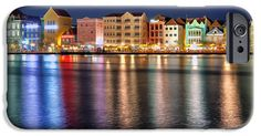 iPhone Cases - Colorful Curacao iPhone Case by Nadia Sanowar
