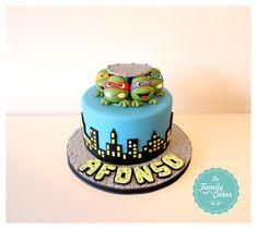 Bolo Tartarugas Ninja / Ninja Turtles Cake - The Family Cakes