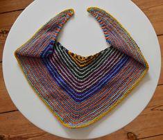 Strickanleitung: How to knit ein Halstuch in Dreiecksform – egal welche Wolle | Totally my own