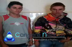Suspeitos de tráfico são presos após denúncia anônima á Polícia Militar