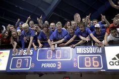 Good bye Mizzou.  KU defeats Missouri