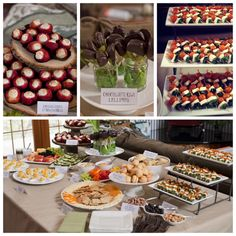 baby shower food ideas -- from my own personal shower on 3/17 -- all food by @Laurel White and @Karen Linebarger