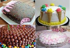 Βασικά βήματα για να φτιάξετε παιδικές τούρτες γενεθλίων! - Daddy-Cool.gr Birthday Sweets, Birthday Parties, Happy Birthday, Birthday Cakes, Happy Paintings, Allrecipes, Party Time, Cupcakes, Baking