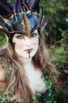 Forest Dragon Crown by Feral-Workshop.deviantart.com on @deviantART