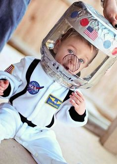 An Astronaut Costume For Kids