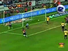 Chivas vs Morelia.  El primer gol de Marco Fabián en Primera División.