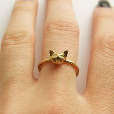 Cheshire Kitty Ring  by VERAMEAT