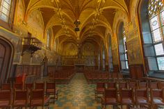 Brugge, the great hall in the town hall by Maarten Hoek on 500px