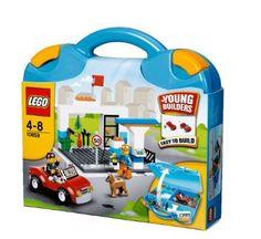 LEGO Bricks & More 10659: Suitcase (Blue): Amazon.co.uk: Toys & Games