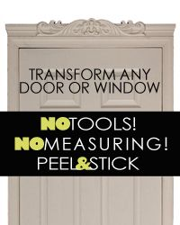 Easy Door Crown Adjusts from 25\  to ...  sc 1 st  Pinterest & Foam Crown Molding | Easy Crown Molding | Styrofoam Crown Molding ...