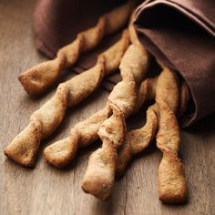 Cheesy Millet and Black Pepper Breadsticks from the Better Homes and Gardens Must-Have Recipes App