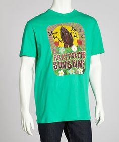 Take a look at this Volcom Kelly Green Ozzie Shala Tee on zulily today!