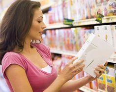 Como ler rótulos de produtos alimentícios