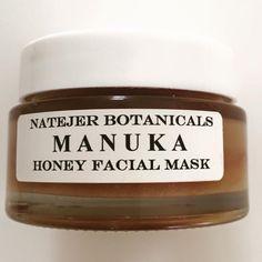 Manuka honey facial mask