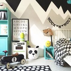 nice mommo design: MOUNTAINS DECOR... by http://www.besthomedecorpics.us/boy-bedrooms/mommo-design-mountains-decor/