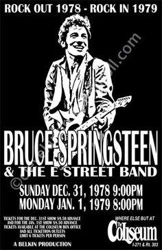 Bruce Springsteen 1978 Cleveland Concert by ClevelandRockAndRoll