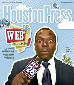 Fox26 newscaster Isiah Carey got over his embarrassment and learned to embrace the power of social media. He's among this year's winners, all creative users of the latest technology.