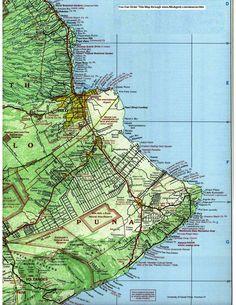 Puna Hawaii Map