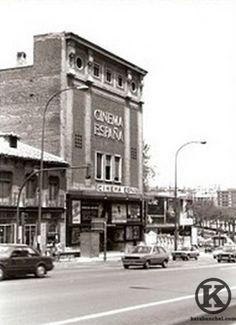 Dream Theater, Signage, Spain, Cinema, Street View, City, Building, Travel, Nostalgia