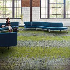 Interface Modular Carpet |Moss,Flint/Moss