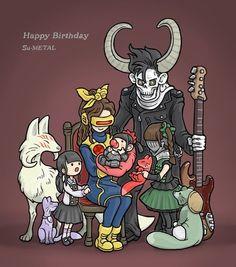 """FANART """"Happy Birthday, Su-Metal"""""""