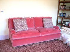 Velvet Upholstery - Little Green Notebook