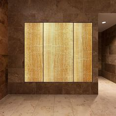 ViviStone architectural #glass takes any space to the #nextlevel. Shown here in Honey Onyx.