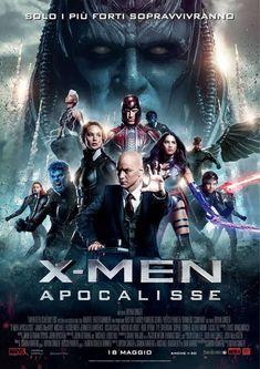 X-Men Apocalisse, il film di Bryan Singer con Jennifer Lawrence, James McAvoy e Michael Fassbender, dal 18 maggio al cinema.