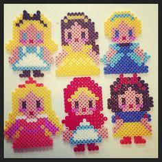 Disney Alice, Belle, Cinderella, Aurora, Snow White and Little Red Riding Hood