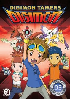 Digimon Season 3: Digimon Tamers DVD Complete Collection (D)
