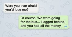 11text convos that illustrate differences between male and female logic