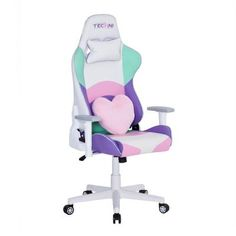 Techni Sport Kawaii TechniSport Office-PC Gaming Chair - The Home Depot The ultimate gaming room combo for a gamer girl!The ultimate gaming room combo for a gamer
