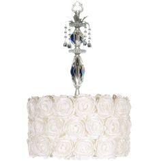 Gabrielle Silver Pendant Lamp from PoshTots
