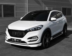 M&S Front Lip for Hyundai Tucson TL 2016+ ** ON SALE ** - KDMHolic