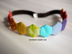 Tutorial: Hexcellent Headband - Michele Made Me