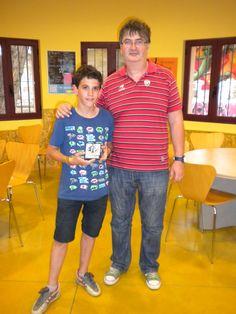 Primer clasificado juvenil Javier Bernal, ¡enhorabuena!