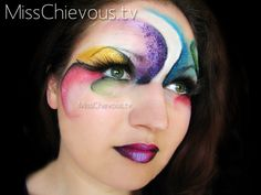 Face as canvas for art!