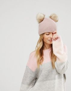 b49f484a185 Get this Asos s winter hat now! Click for more details. Worldwide shipping.  ASOS