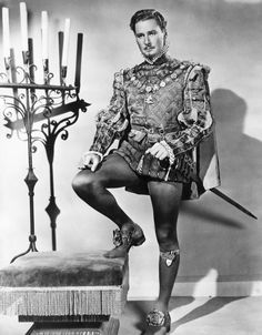 Errol Flynn:  Captain Blood, The Sea Hawk, Robin Hood, Elizabeth and Essex, Against All Flags