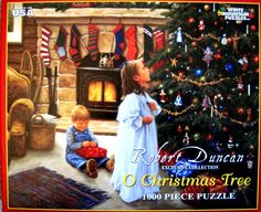 O CHRISTMAS TREE~White Mountain 1000 Piece Jigsaw Puzzle~Robert Duncan 2010 in Toys & Hobbies, Puzzles, Contemporary Puzzles | eBay