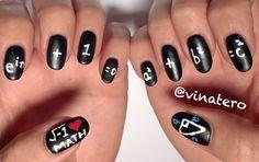 My Math Nails  Nailart