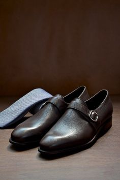 lowest price aac0c 7c4fa Stefano Bemer Single Monk Strap Shoes Monk Strap Shoes, Mens Style Guide,  Well Dressed