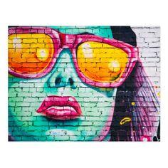 Modern Art Paintings, Modern Art Prints, Modern Wall Art, Graffiti Girl, Graffiti Wall Art, Painting Prints, Wall Art Prints, Poster Prints, Tarot