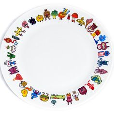 Doodle Plate Large, $15, now featured on Fab.