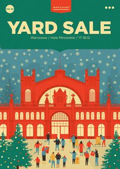 """Check out this @Behance project: """"YARD SALE 