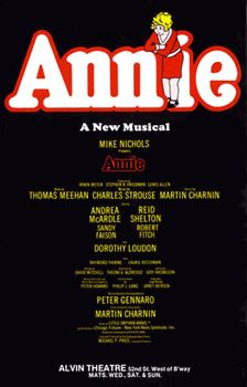 Annie  the Musical Broadway Poster (Original Production)