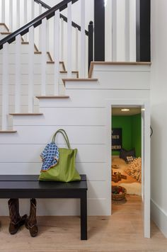 Omg I need all of these hidden rooms! Especially the one under the stairs!