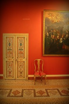 Rome and red, is there a combo more luscious? Palazzo Corsini, photo by Luca Parravano